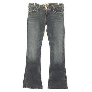 Hollister mid rise stretchy flare jeans